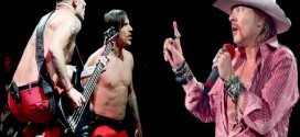 Axl Rose critica playback do Red Hot Chili Peppers no Super Bowl