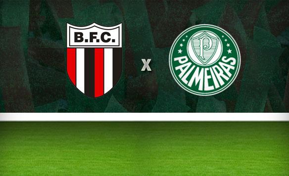 botafogo-SP e Palmeiras