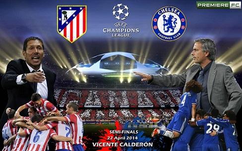 Atletico-de-Madrid e Chelsea