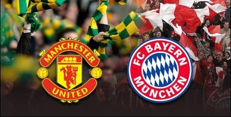 Manchester United e Mayern de Munique