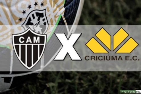 Atletico-MG e Criciuma