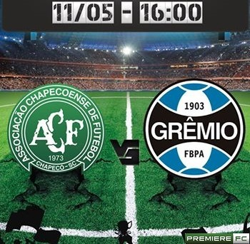 Chapecoense e Grêmio