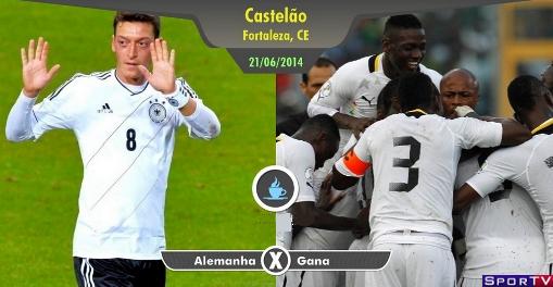 Alemanha e Gana