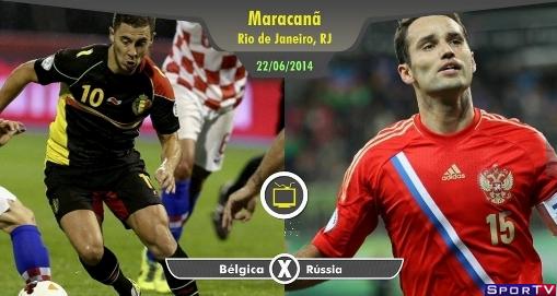 Bélgica e Rússia