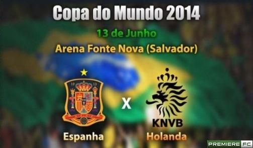Espanha e Holanda