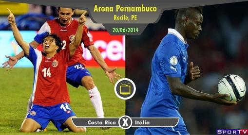 Itália e Costa Rica