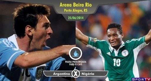 Nigéria e Argentina