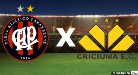Atlético-PR e Criciuma