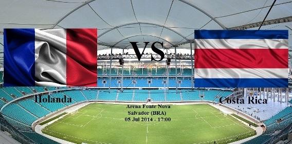Holanda e Costa Rica