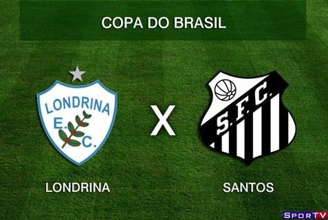 Londrina e Santos