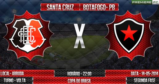 Santa Cruz e Botafogo-PB