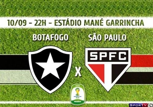 Botafogo e São Paulo