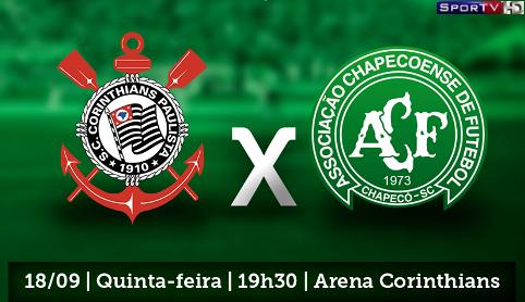 Corinthians e Chapecoense