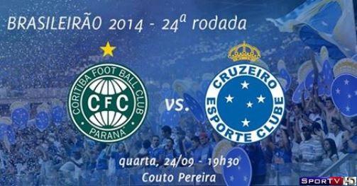 Coritiba e Cruzeiro