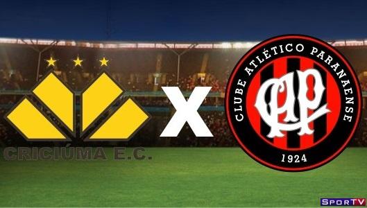 Criciúma e Atlético-PR