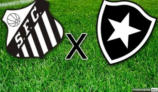 Santos e Botafogo