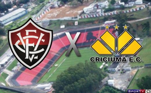 Vitória e Criciuma