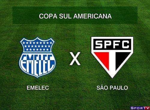 Emelec e São Paulo