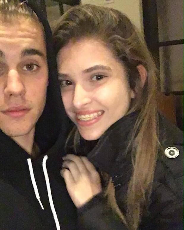 Filha de Carlos Alberto de Nóbrega com o cantor Justin Bieber (Reprodução / Instagram)