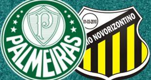 Palmeiras x Novorizontino ao vivo