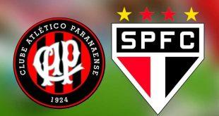 transmissão Atlético-PR x São Paulo