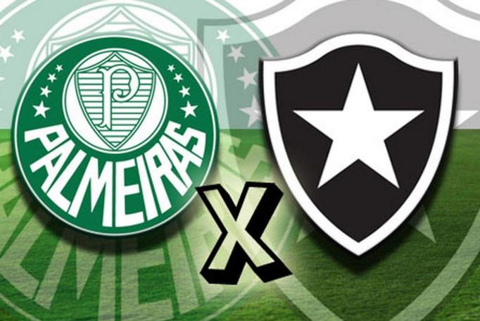 Palmeiras x Botafogo ao vivo