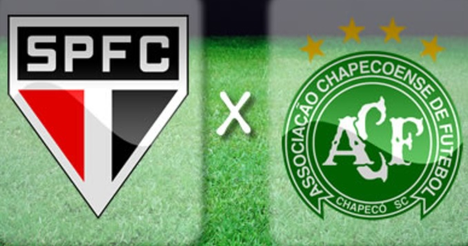 São Paulo x Chapecoense